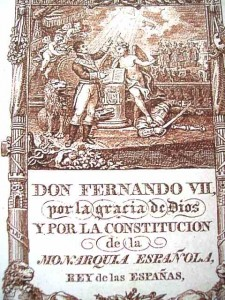 Portada Constitucion 1812